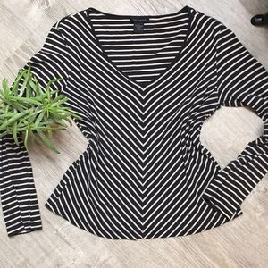Flattering long sleeve top